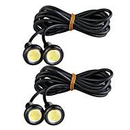 Недорогие Задние фонари-4шт Автомобиль Лампы 3 W Светодиодная лампа Внешние осветительные приборы For Универсальный