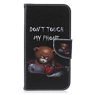 Na Samsung Galaxy Etui Etui na karty / Portfel / Z podpórką / Flip / Wzór Kılıf Futerał Kılıf Napis Skóra PU SamsungJ5 / J3 / J2 / J1 Ace