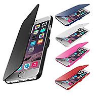 お買い得  -VORMOR ケース 用途 Apple iPhone 6 Plus / iPhone 6 フルボディーケース ハード PUレザー のために iPhone 6s Plus / iPhone 6s Plus / 6 Plus / iPhone 6s