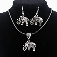 Men's / Women's Jewelry Set Earrings / Necklace - Silver For Daily / Casual