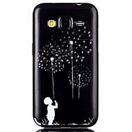 Назначение Кейс для  Samsung Galaxy Чехлы панели С узором Задняя крышка Кейс для одуванчик Термопластик для SSamsung Galaxy Grand Prime