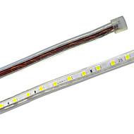 billige LED-stribelys-Jiawen vandtæt 39W 2400lm 120x5050 SMD LED fleksibel lys strimler (3m længde / 220v)