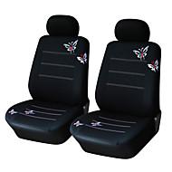 par autoyouth mariposa cubo de la cubierta de asiento de coche bordado universal de ajuste más coche cubre cubiertas accesorios de asiento