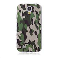 billige Mobilcovers-For Samsung Galaxy etui Mønster Etui Bagcover Etui Camouflage TPU SamsungS6 edge plus / S6 edge / S6 / S5 Mini / S5 / S4 Mini / S4 / S3