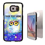 Voor Samsung Galaxy hoesje Patroon hoesje Achterkantje hoesje Uil PC SamsungS6 edge plus / S6 edge / S6 / S5 Mini / S5 / S4 / A8 / A7 /