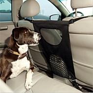 abordables Hogar y Mascotas-Perro Cobertor de Asiento Para Coche Mascotas Portadores Plegable Un Color Negro