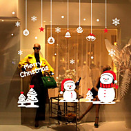 クリスマス / 静物 / ファッション / 歴史 / ホリデー / 風景画 / 形 ウォールステッカー プレーン・ウォールステッカー,VINYL 76*75CM