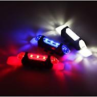 Fahrradrücklicht Sicherheitsleuchten - Radsport Wasserfest Einfach zu tragen Warnung Andere 15 Lumen USB Rot Radsport