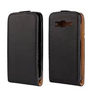 Недорогие Чехлы и кейсы для Galaxy S-Кейс для Назначение SSamsung Galaxy Кейс для  Samsung Galaxy Флип Чехол Однотонный Кожа PU для S3