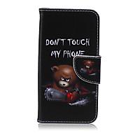 Недорогие Чехлы и кейсы для Galaxy S6 Edge Plus-Кейс для Назначение SSamsung Galaxy Кейс для  Samsung Galaxy Бумажник для карт Кошелек со стендом Флип Чехол Мультипликация Кожа PU для