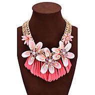 Mujer Collares Declaración Forma de Corazón Diamante Sintético Concha Legierung estilo de Bohemia Joyería Destacada Joyería de Lujo