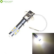 h3 pk22s 35W 7 x Cree led valkoinen 6000K auton ajovalojen lampun sumuvalo ajovalolamppu ac / dc 9-30v