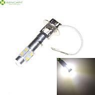 abordables Otras Luces LED-sencart h3 45w 9x3535 smd blanco frío decorativo ac / dc 9-30v