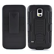 Недорогие Чехлы и кейсы для Galaxy S6 Edge Plus-Кейс для Назначение SSamsung Galaxy Кейс для  Samsung Galaxy Защита от удара со стендом Кейс на заднюю панель броня ПК для S7 edge S7 S6