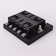 portafusibles 10 vías portafusibles hoja ato fusible coche circuito automovilístico atc auto iztoss dc 32v con fusible