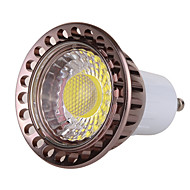 billige -ywxlight® 7w gu10 led spotlight mr16 1 cob 500-600 lm varm hvit kald hvit dimbar dekorativ ac 220-240 ac 110-130 v 1pc