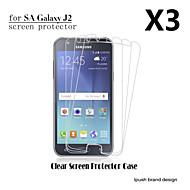お買い得  Samsung 用スクリーンプロテクター-スクリーンプロテクター Samsung Galaxy のために J2 PET スクリーンプロテクター ハイディフィニション(HD)