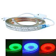 tanie Taśmy LED-Jiawen 400cm wodoodporny 24W 240-5050smd 8-mode LED RGB listwa światła (AC110 ~ 220V)