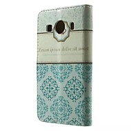 Для Кейс для  Samsung Galaxy Бумажник для карт / Кошелек / со стендом / Флип / С узором Кейс для Чехол Кейс для Плитка Искусственная кожа
