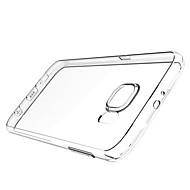 Для Кейс для  Samsung Galaxy Прозрачный Кейс для Задняя крышка Кейс для Один цвет TPU Samsung S6