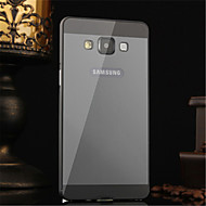 Недорогие Чехлы и кейсы для Galaxy А-Кейс для Назначение SSamsung Galaxy Кейс для  Samsung Galaxy Покрытие Кейс на заднюю панель Однотонный Акрил для A5