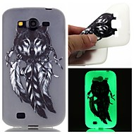 Voor Samsung Galaxy hoesje Glow in the dark / Patroon hoesje Achterkantje hoesje Dier TPU SamsungOn 7 / On 5 / J3 / J1 Ace / Grand Prime