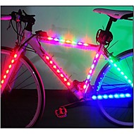 Luces para bicicleta luces de seguridad luces de la rueda LED - Ciclismo Fácil de Transportar Luz LED AAA Lumens Batería Ciclismo