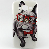 Для Кейс для  Samsung Galaxy С узором Кейс для Задняя крышка Кейс для С собакой TPU Samsung J5