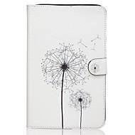 Назначение Кейс для  Samsung Galaxy Чехлы панели Кошелек Бумажник для карт со стендом Флип С узором Чехол Кейс для одуванчик