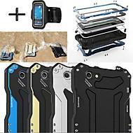 Недорогие Сегодняшнее предложение-Кейс для Назначение Apple iPhone 6 iPhone 6 Plus Защита от влаги Защита от пыли Защита от удара Чехол броня Твердый Металл для iPhone 6s
