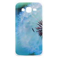 abordables Galaxy J1 Carcasas / Fundas-Funda Para Samsung Galaxy Funda Samsung Galaxy IMD Funda Trasera Diente de león TPU para J5 J3 J1
