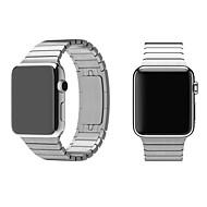 abordables Liquidación-Ver Banda para Apple Watch Series 3 / 2 / 1 Apple Hebilla de la mariposa Acero Inoxidable Correa de Muñeca