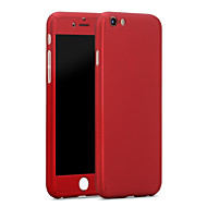 Case For Apple iPhone X iPhone 8 iPhone 6 iPhone 6 Plus Shockproof Full Body Cases Solid Color Hard PC for iPhone X iPhone 8 Plus iPhone