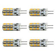 1.5W G4 LED Λάμπες Καλαμπόκι T 24 SMD 2835 100-150 lm Θερμό Λευκό Ψυχρό Λευκό 2800-3000/6000-6500 κ Με ροοστάτη DC 12 V