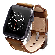abordables Accesorios para Apple-Ver Banda para Apple Watch Series 4/3/2/1 Apple Hebilla Clásica Cuero Auténtico Correa de Muñeca