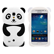 cheap Cases / Covers for Samsung-Case For Samsung Galaxy Samsung Galaxy Case Pattern Back Cover 3D Cartoon Silicone for S4 Mini S3 Mini