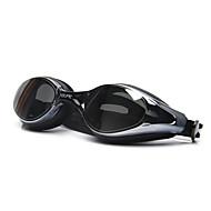 billige Vandsport-svømmebriller Anti-Tåge Justerbar Størrelse Anti-UV Polariseret Linse Vandtæt silica Gel PC Hvid Grå Sort Gennemsigtige Lyserød Grå Sort