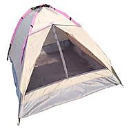 お買い得  -LANGYA 2人 テント シングル キャンプテント 1つのルーム 速乾性 通気性 のために キャンピング cm