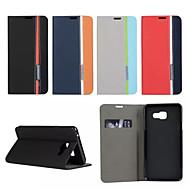 Для Кейс для  Samsung Galaxy Бумажник для карт / со стендом / Флип / Магнитный / С узором Кейс для Чехол Кейс для Геометрический рисунок
