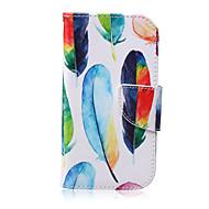 Для Кейс для  Samsung Galaxy Кошелек / Бумажник для карт / со стендом / Флип Кейс для Чехол Кейс для Перо Искусственная кожа SamsungS6