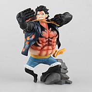 egy darab majom d. Luffy 17,5 cm pop baba modell anime játékfigurák
