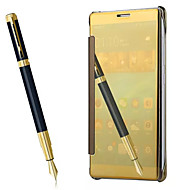 お買い得  携帯電話ケース-ケース 用途 HUAWEI Mate 8 フルボディケース ソリッド ハード PUレザー のために Huawei