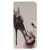 Недорогие Чехлы и кейсы для Galaxy S-Кейс для Назначение SSamsung Galaxy Samsung Galaxy S7 Edge Бумажник для карт Кошелек со стендом Флип Чехол Соблазнительная девушка Кожа PU