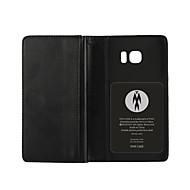 роскошный многофункциональный бумажник стиль кожаный PU защитный чехол для всего тела с гнездом для платы галактики Samsung s7 / s6 / s7