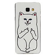 Για Samsung Galaxy Θήκη Με σχέδια tok Πίσω Κάλυμμα tok Γάτα TPU Samsung A7(2016) / A5(2016) / A3(2016) / A9