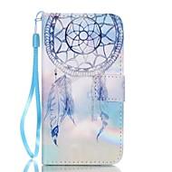 Недорогие Чехлы и кейсы для Galaxy A3(2017)-Кейс для Назначение SSamsung Galaxy A5(2017) A3(2017) Бумажник для карт Кошелек со стендом Чехол Ловец снов Твердый Кожа PU для A3 (2017)
