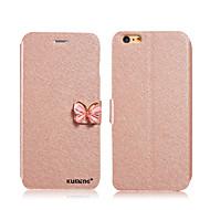 voordelige Hoesjes / covers voor Samsung-luxe mode zijdepatroon stand flip lederen mobiele telefoon geval voor samsung galaxy S7 / S7 edge / s6 edge + / s6 / S5 / s4 / s3