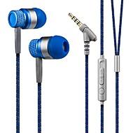 kanen 3.5mm stereo hands-free u uho slušalice niske bas slušalice s mikrofonom za pametne telefone
