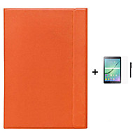caso de negócios inteligente capa original capa para para Galaxy Tab samsung a / guia 8,0 a 9,7 + caneta + filme
