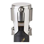 RVS champagne kurk fles mousserende wijn plug sealer zilver